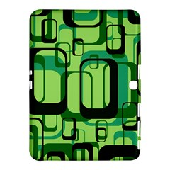 Retro Pattern 1971 Green Samsung Galaxy Tab 4 (10.1 ) Hardshell Case
