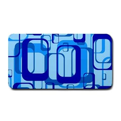 Retro Pattern 1971 Blue Medium Bar Mats