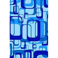 Retro Pattern 1971 Blue 5.5  x 8.5  Notebooks