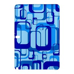 Retro Pattern 1971 Blue Samsung Galaxy Tab Pro 10 1 Hardshell Case