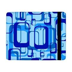Retro Pattern 1971 Blue Samsung Galaxy Tab Pro 8 4  Flip Case