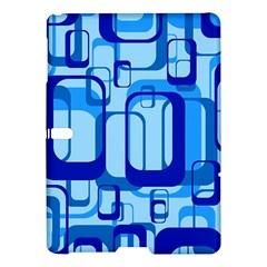 Retro Pattern 1971 Blue Samsung Galaxy Tab S (10.5 ) Hardshell Case