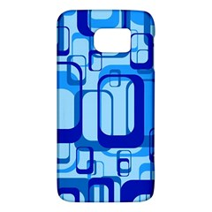 Retro Pattern 1971 Blue Galaxy S6