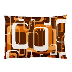 Retro Pattern 1971 Orange Pillow Cases