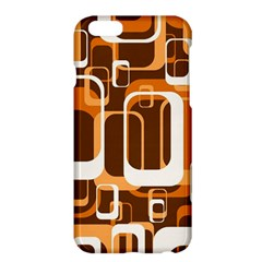 Retro Pattern 1971 Orange Apple iPhone 6/6S Plus Hardshell Case