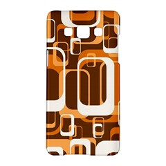 Retro Pattern 1971 Orange Samsung Galaxy A5 Hardshell Case