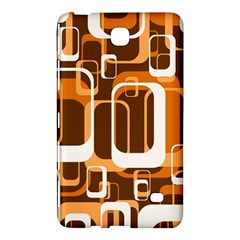 Retro Pattern 1971 Orange Samsung Galaxy Tab 4 (7 ) Hardshell Case