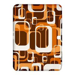 Retro Pattern 1971 Orange Samsung Galaxy Tab 4 (10 1 ) Hardshell Case
