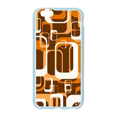 Retro Pattern 1971 Orange Apple Seamless iPhone 6 Case (Color)