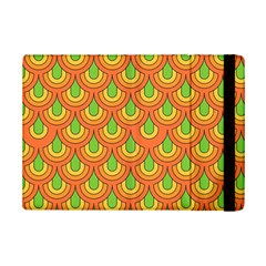 70s Green Orange Pattern Ipad Mini 2 Flip Cases