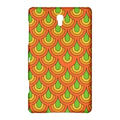 70s Green Orange Pattern Samsung Galaxy Tab S (8.4 ) Hardshell Case