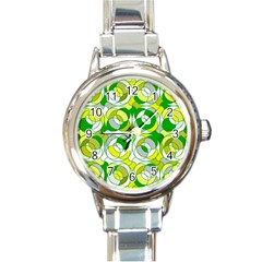 The 70s Round Italian Charm Watches