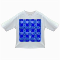 Retro Blue Pattern Infant/Toddler T-Shirts