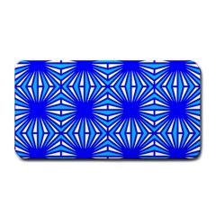 Retro Blue Pattern Medium Bar Mats