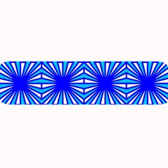 Retro Blue Pattern Large Bar Mats