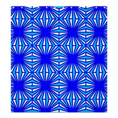 Retro Blue Pattern Shower Curtain 66  X 72  (large)