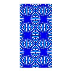 Retro Blue Pattern Shower Curtain 36  X 72  (stall)