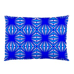 Retro Blue Pattern Pillow Cases (Two Sides)