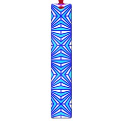 Retro Blue Pattern Large Book Marks