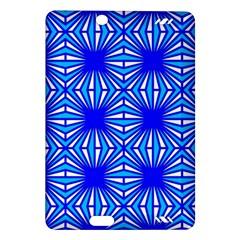Retro Blue Pattern Kindle Fire Hd (2013) Hardshell Case