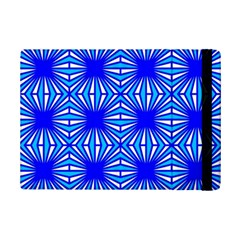 Retro Blue Pattern Ipad Mini 2 Flip Cases