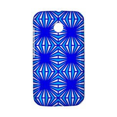 Retro Blue Pattern Motorola Moto E