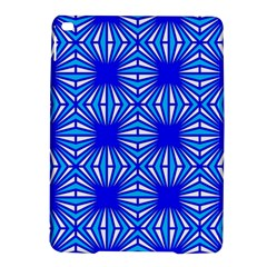 Retro Blue Pattern iPad Air 2 Hardshell Cases