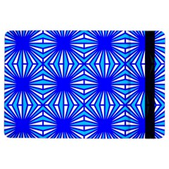 Retro Blue Pattern Ipad Air 2 Flip