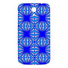 Retro Blue Pattern Samsung Galaxy Mega I9200 Hardshell Back Case