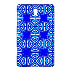 Retro Blue Pattern Samsung Galaxy Tab S (8.4 ) Hardshell Case
