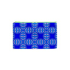 Retro Blue Pattern Cosmetic Bag (xs)