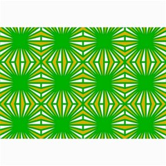 Retro Green Pattern Collage 12  x 18
