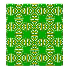 Retro Green Pattern Shower Curtain 66  x 72  (Large)