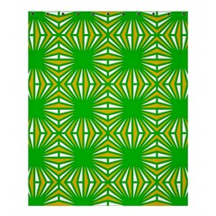 Retro Green Pattern Shower Curtain 60  x 72  (Medium)