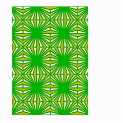 Retro Green Pattern Large Garden Flag (Two Sides)