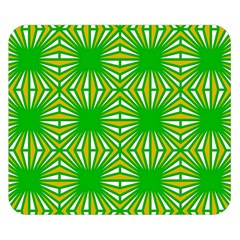 Retro Green Pattern Double Sided Flano Blanket (Small)