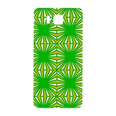 Retro Green Pattern Samsung Galaxy Alpha Hardshell Back Case