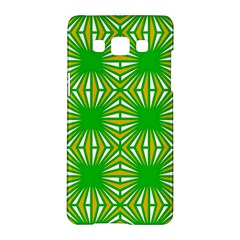 Retro Green Pattern Samsung Galaxy A5 Hardshell Case