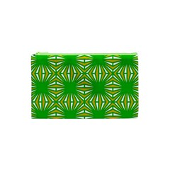 Retro Green Pattern Cosmetic Bag (XS)