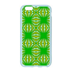 Retro Green Pattern Apple Seamless iPhone 6 Case (Color)