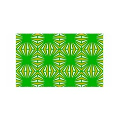 Retro Green Pattern Satin Wrap
