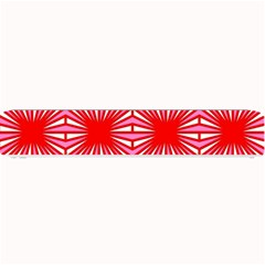 Retro Red Pattern Small Bar Mats
