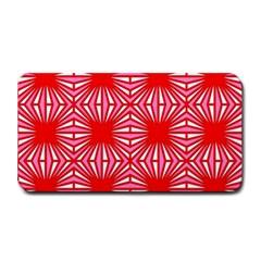 Retro Red Pattern Medium Bar Mats