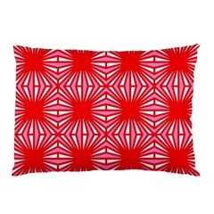 Retro Red Pattern Pillow Cases