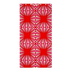 Retro Red Pattern Shower Curtain 36  x 72  (Stall)
