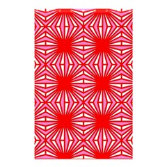 Retro Red Pattern Shower Curtain 48  X 72  (small)