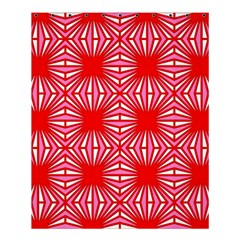Retro Red Pattern Shower Curtain 60  X 72  (medium)