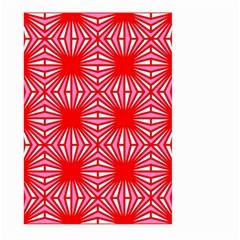 Retro Red Pattern Large Garden Flag (Two Sides)