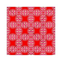 Retro Red Pattern Acrylic Tangram Puzzle (6  x 6 )
