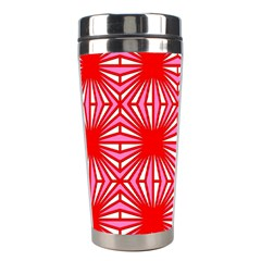 Retro Red Pattern Stainless Steel Travel Tumblers